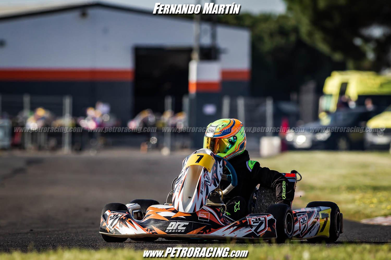 Alberto Hurtado primero de la clase Junior en Cartaya
